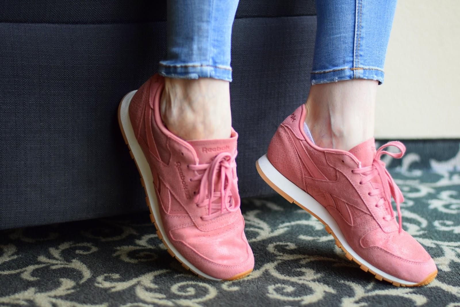 ružové tenisky na každodenné nosenie