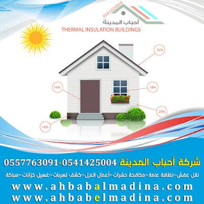 افضل شركات العزل الحراري بالمدينة المنورة 0541425004