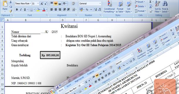 Contoh Sk Dan Kwitansi Lpj Kegiatan Ppdb 20152016 Format
