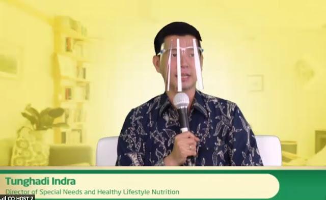 Tunghadi Indra menjelaskan keunggulan produk diabetasol