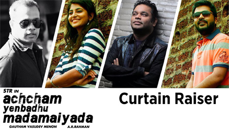 Exclusive interview with A R Rahman,  Gautham Menon & Simbhu