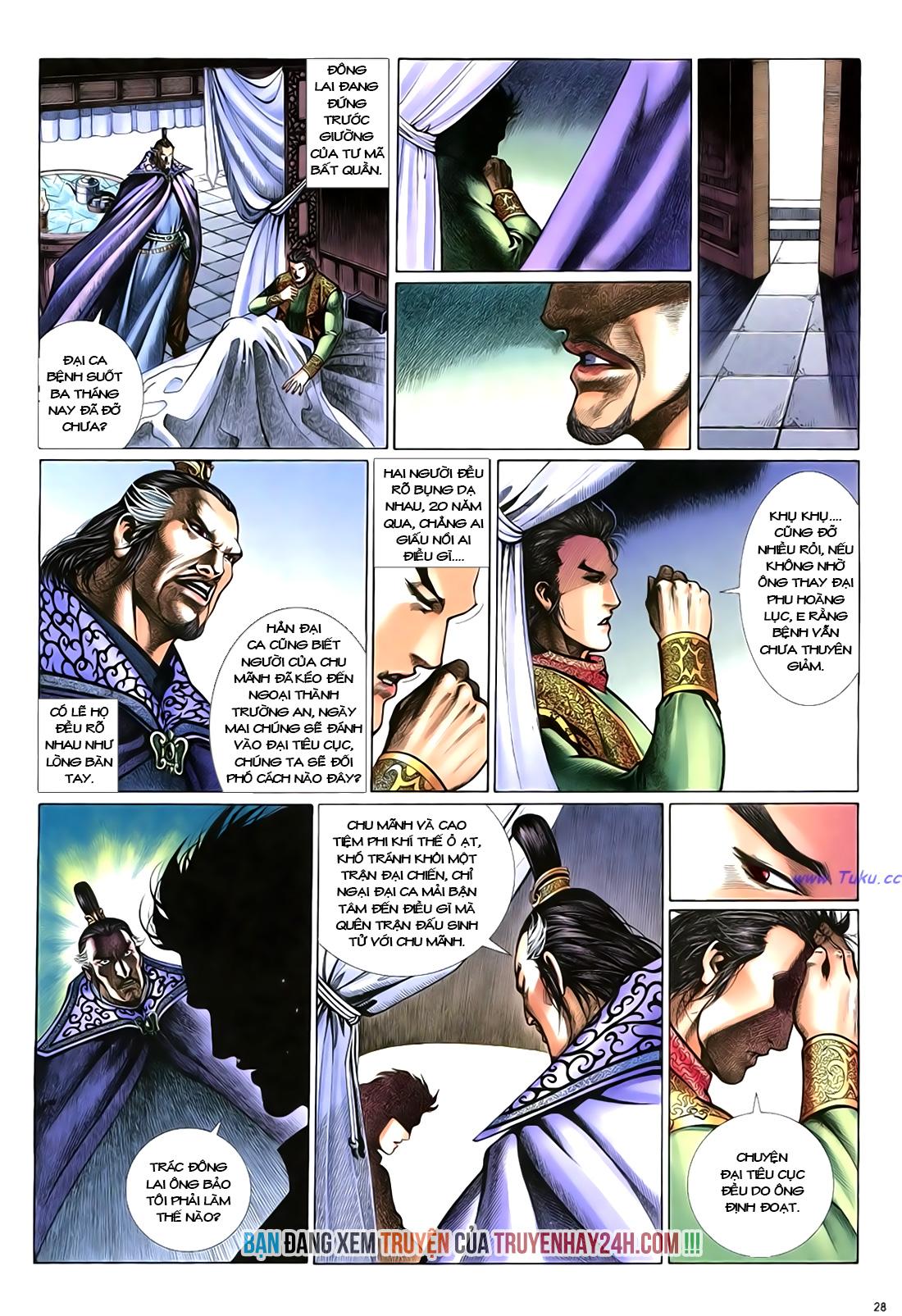 Anh hùng vô lệ Chap 18 trang 29