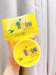 Kem body lemon
