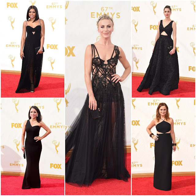 WHO WORE WHAT?.....Emmy Awards 2015: Trend Alert! Black is Back, Some Good, Some Not-So-Much