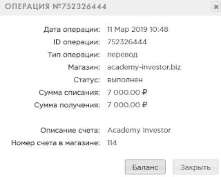 academy-investor отзывы