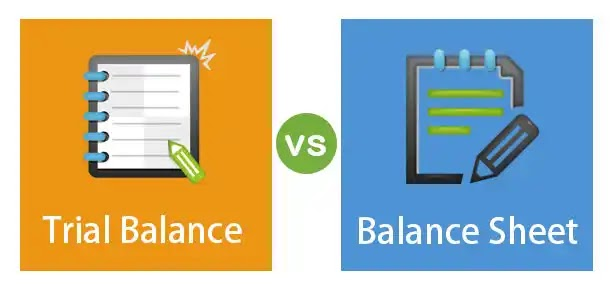 Difference Between Trial Balance And Balance Sheet