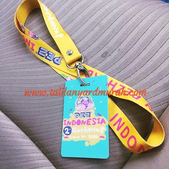 Pusat penjualan tali ID card murah di Jakarta