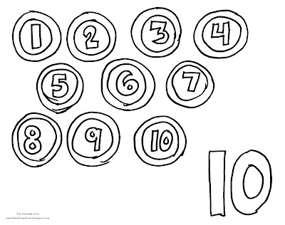 Spanish Numbers 1-10 Coloring Sheets - Colorings.net