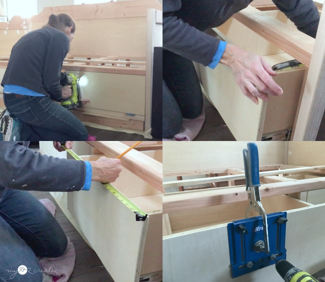 the easy way to add drawer fronts