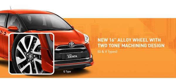 Exterior All New Toyota Sienta