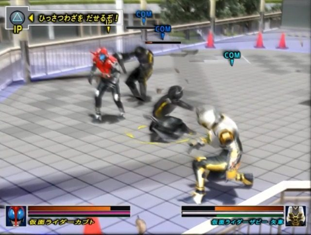 Kamen Rider Kabuto PS2 GAME ISO Gameplay 1