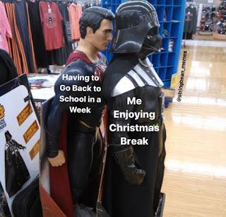 Christmas, Christmas Break Meme