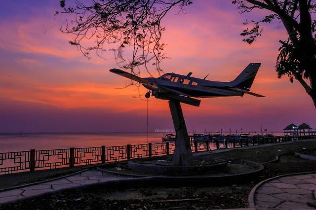 Sunset di Pantai Kartini Jepara