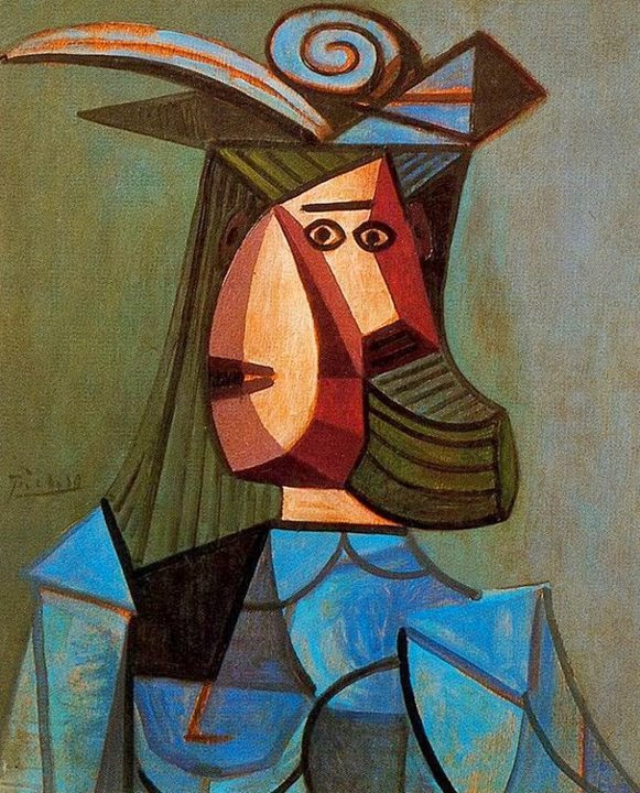 100 paintings by pablo picasso the cubist portraits 1881 1973 fine art and you painting. Black Bedroom Furniture Sets. Home Design Ideas