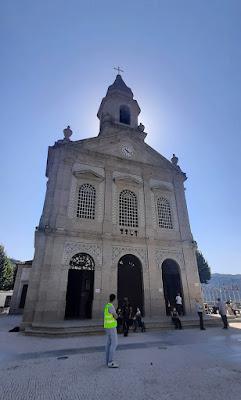 FAchada da Basílica de São Bento da Porta Aberta