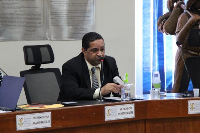 Renato Sandré faz indicação para incluir profissionais da limpeza urbana no plano prioritário de vacinação contra Covid-19