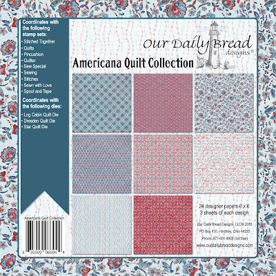 Our Daily Bread Designs Paper Collection: Americana Quilt