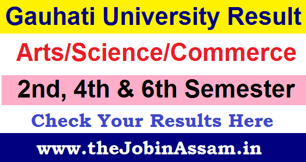 Gauhati University Result 2020 Details: