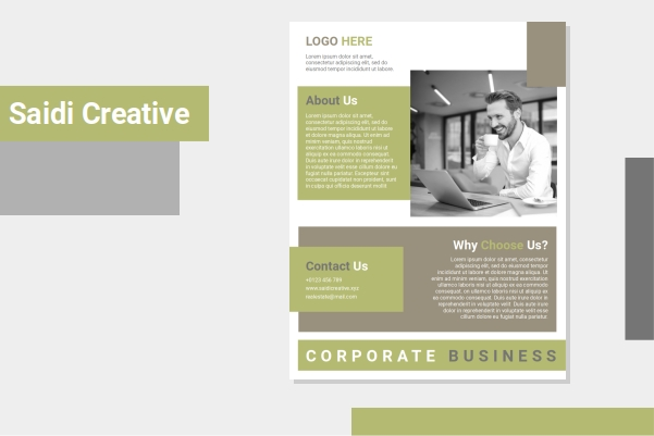 Corporate business flyer template word document is your good choice if you wanna share about your business company. You can use this flyer template for all your business purposes too, but this flyer design template usually just used by business agent marketing. Business agents need business flyer template for supporting them to reach more customer attention, in the real world or in the internet access. They use business flyer marketing for giving information to customer about their corporate company. There are some main information of business flyer templates on flyer design template,  like: corporate profiles, corporate services, corporate contact, and business agent / marketing agent name.