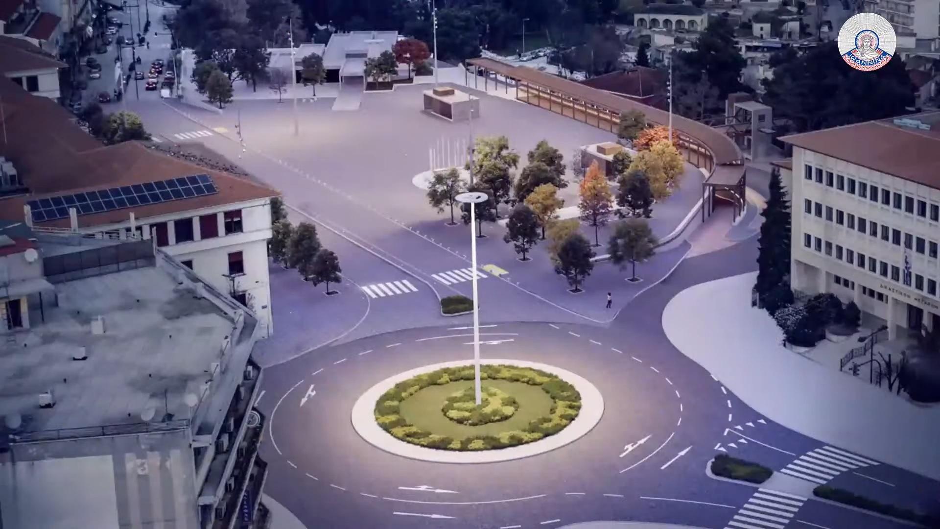 Ιωάννινα:Αλλάζει η κεντρική πλατεία της πόλης![εικόνες]