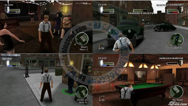 Download Game Th godfather mob wars ISO CSO for PPSSPP High Compress