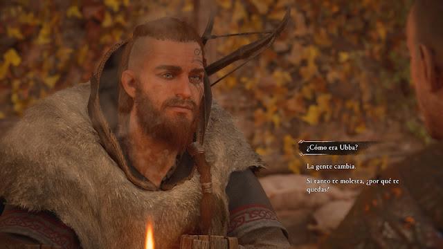 Eivor Ubba Decisiones Diálogos Assassins Creed Valhalla