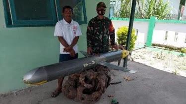 Nelayan Temukan Drone Diduga Milik China di Sulawesi Selatan