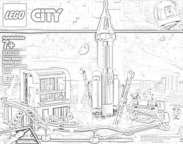 The Holiday Site Coloring Pages Of Lego Nasa Kits