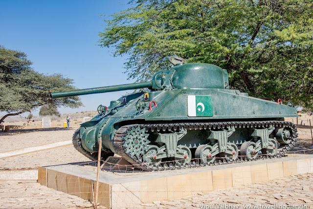 Longewala captured tank