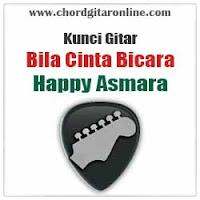 Chord Kunci Gitar Bila Cinta Bicara Happy Asmara
