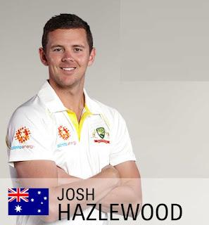 Josh Hazlewood image , josh Hazlewood in 2019