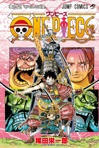 Ver Descargar One Piece Manga Tomo 95
