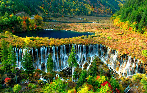 Nuorilang falls – China