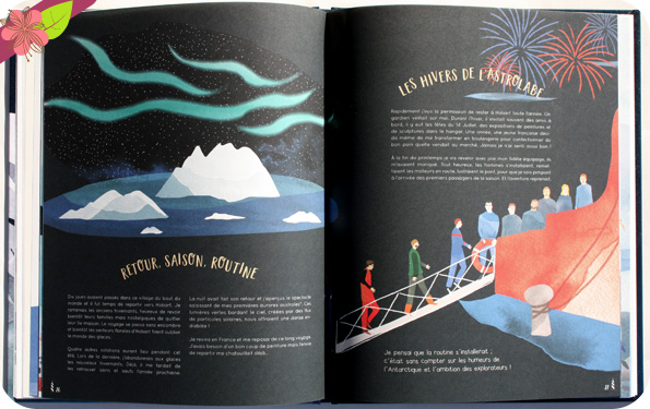 Le grand voyage de l'astrolabe de Daphné Buiron et Catherine Cordasco - éditions Le Pommier