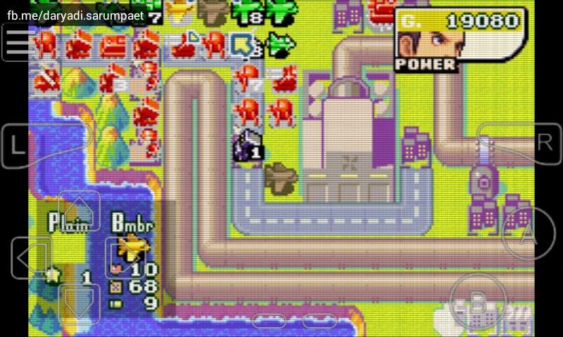 Advance Wars 2 GBA Game on Emulator | Indotechboy