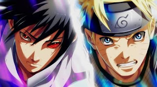 Uzumaki Naruto, Uchiha Sasuke, pertarungan epik, Naruto Uzumaki