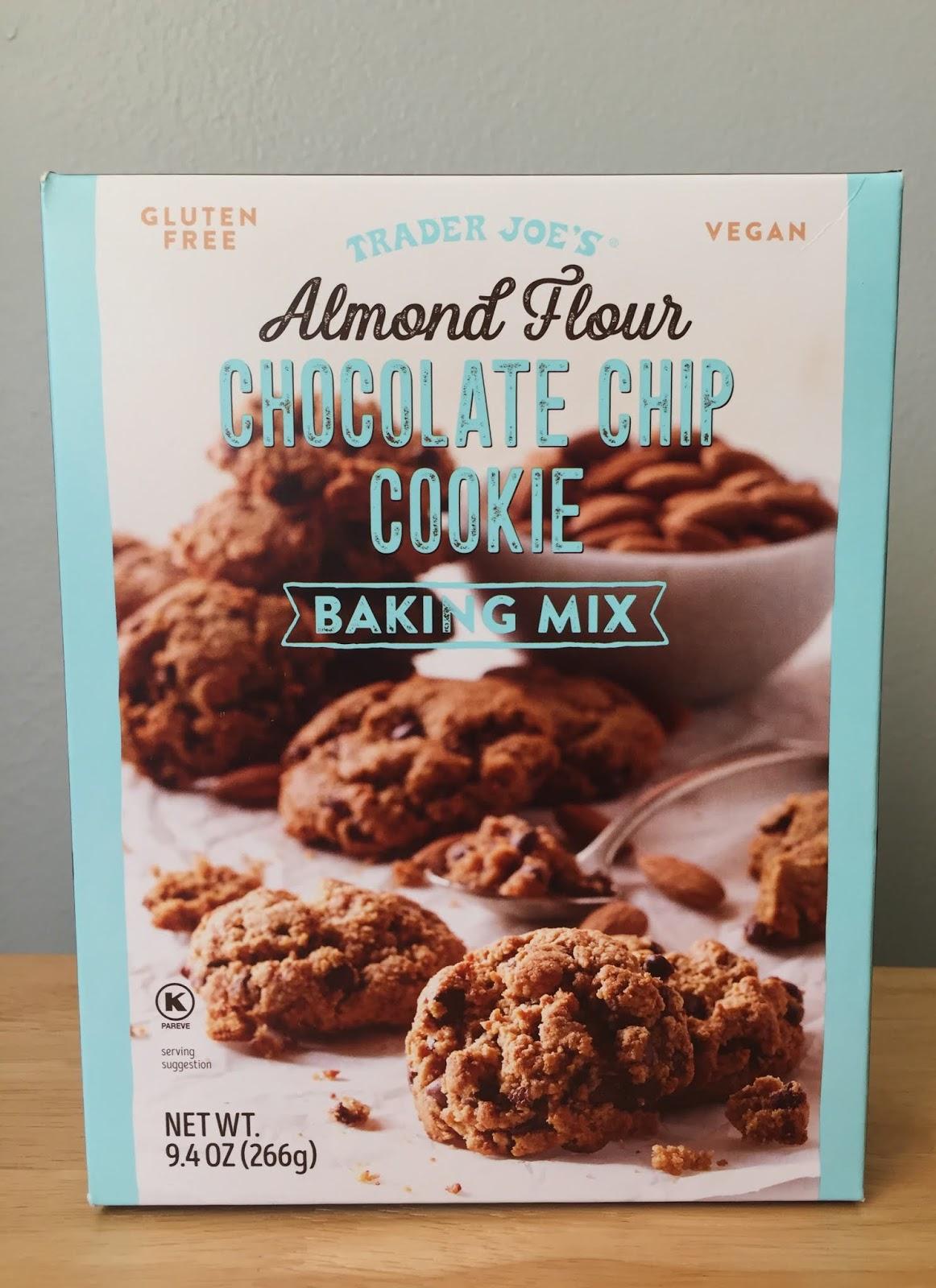 Trader Joe S Almond Flour Chocolate Chip Cookie Baking Mix