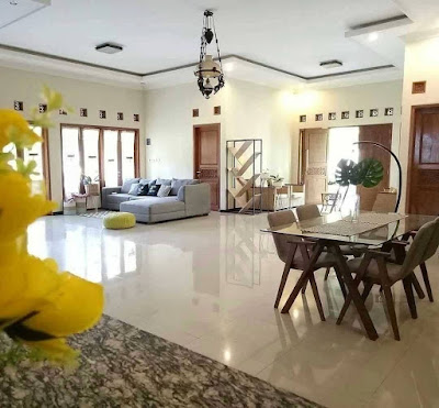 dekorasi ruang keluarga yang unik