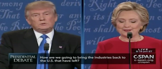 In Debate, Clinton Gets No Follow-Up Questions, Trump Gets 6