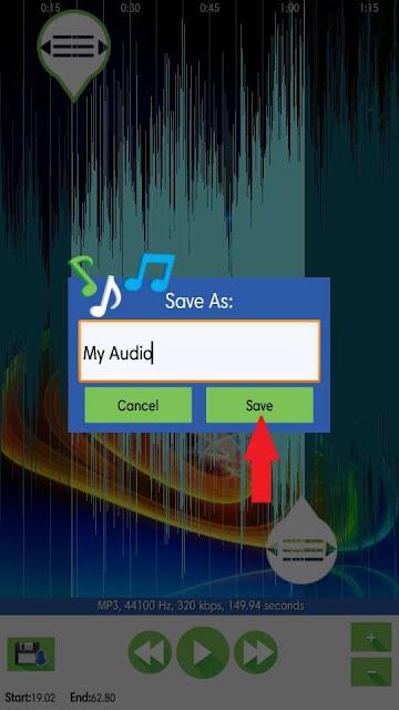 Cara Memotong Audio di Android