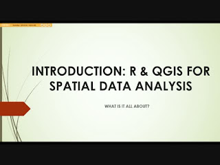 Core Spatial Data Analysis: Introductory GIS with R and QGIS