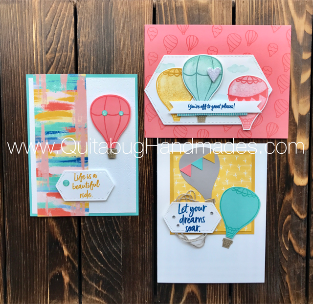 Quitabug Handmades: Above the Clouds FREE Card Kit