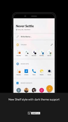 لانشر ون بلس OnePlus Launcher Apk نسخة كاملة للاندرويد - محترف اندرويد