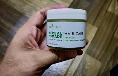 BIOCHO Herbal Pomade Semulajadi Untuk Rambut Sihat dan Bersinar