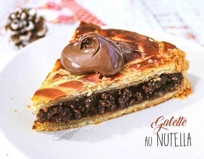 galette des rois nutella recette