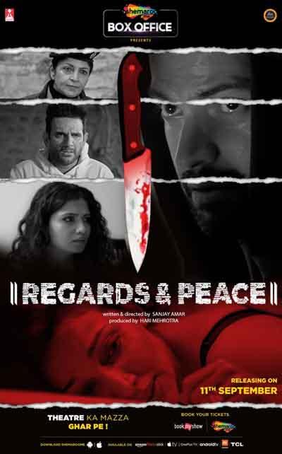 Regards & Peace 2020 Hindi 480p 250MB HDRip MKV