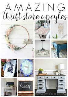 upcycle thrift store projects