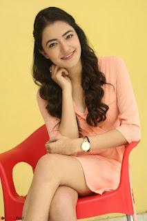 Rukshar Mir in a Peachy Deep Neck Short Dress 038.JPG