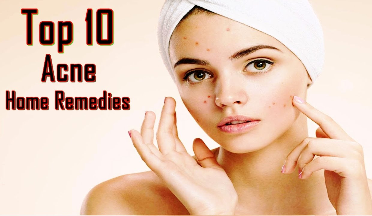 How to get rid of acne at home