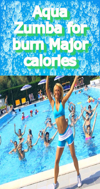 Aqua Zumba for burn More calories